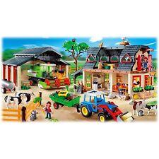 Play Mobil Mega Farm Set - 4055 - Collectible Playmobil Set Rare 771 Pieces NIB