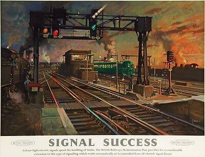 Vintage British Rail Mablethorpe Railway Poster A3//A2 Print