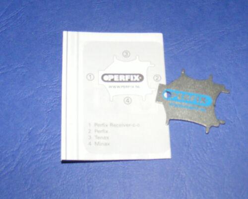 Schlüssel zur Montage der PERFIX Schnellverschlüsse mit Anleitung
