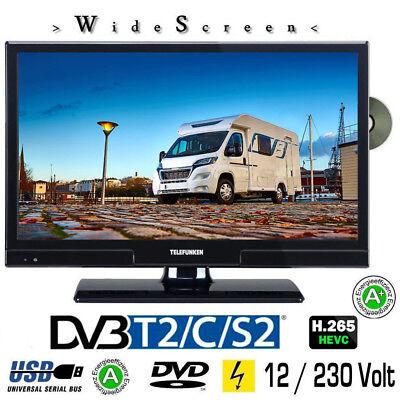 Telefunken L20H270K4DV LED TV 20 Zoll DVB/S/S2/T2/C, DVD, USB, 12V 230V