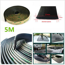 5 Meters Rubber Sealed Strips Trim For Car Windshield Sunroof Triangular Window