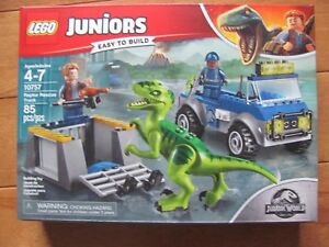 Details About Lego Juniors 10757 Raptor Rescue Truck 85 Pcs New Sealed