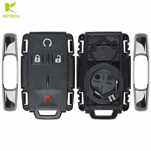 Replacement New Remote Keyless Key Fob Housing Case Shell Pad for GM Truck SUV