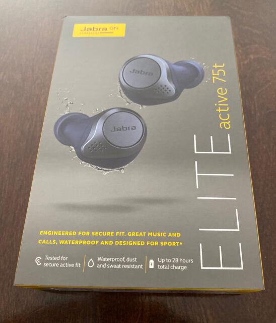 Jabra Elite Active 75t True In Ear Headphones For Sale Online Ebay