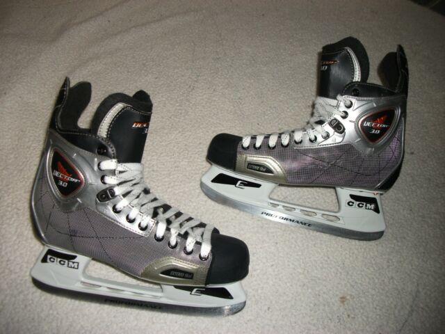 Used Hockey Skates >> Ccm Vector 3 0 Ice Hockey Skates Great Condition Men Size 10 D Never Used Hockey
