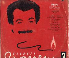 GEORGES BRASSENS N°3 SABOTS D'HELENE LP10' 25cm 10 titres PORT A PRIX COUTANT