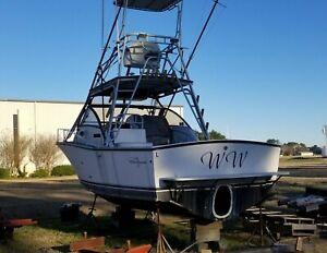 1997 Albemarle Boats 282 express fishermanUp