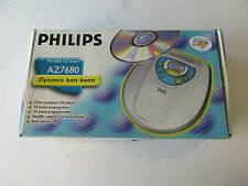 vintage: PHILIPS portable cd player AZ7680 * complete in box *