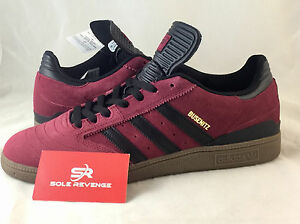 new arrival 1778d bbe47 Image is loading NEW-adidas-BUSENITZ-PRO-Skate-Shoes-Burgundy-Red-