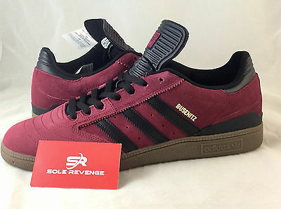 factory price 0fd1e dcc47 NEW adidas BUSENITZ PRO Skate Shoes Burgundy Red Black BB8430 seeley gonz a1