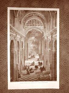 Siena-nel-1863-Veduta-interna-del-Duomo-Toscana