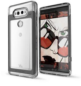 For-LG-V20-Case-Ghostek-CLOAK-Ultra-Slim-Clear-Hybrid-Shockproof-Bumper-Cover