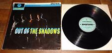 THE SHADOWS ~ OUT OF THE SHADOWS ~ UK COLUMBIA TURQUOISE SILVER STEREO LP 1962