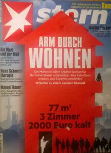 STERN Nr. 18 26.4.2018 ARM DURCH WOHNEN - Frohburg, Deutschland - STERN Nr. 18 26.4.2018 ARM DURCH WOHNEN - Frohburg, Deutschland