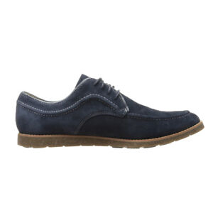 NEW-Mens-Hush-Puppies-Hade-Jester-Casual-Dress-Shoes-Navy-Suede-Any-Size