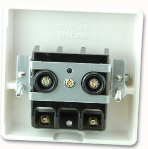 Crabtree Cooker Cable Outlet 4506