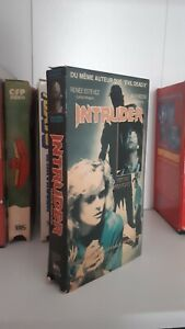 Intruder-Scott-Spiegel-slasher-rare-NTSC-french-VHS