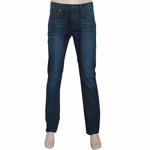 New-Men-039-s-Blue-Denim-Jeans-Slim-Fit-Size-32-33-34-35-36-37-38-39-40