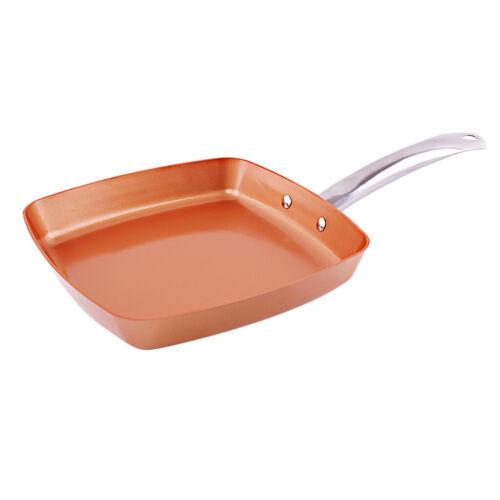 Antihaft Quadratpfanne Ei Omelett Pfannkuchen Küche Kochen Fry 24cm