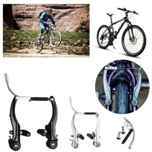 Complete MTB V Brake Levers Front//Rear Mountain Bicycle Cycling Durable