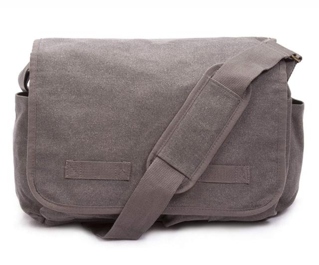 1ef5b676bfef Sweetbriar Classic Messenger Bag Vintage Canvas Shoulder for All Purpose Use