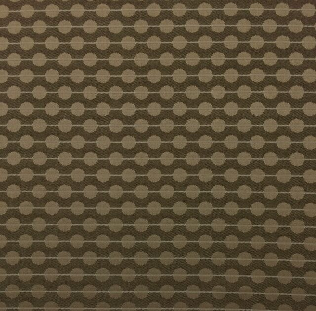 OUTDURA 2808 ECHO TIMBER BROWN CIRCLE OUTDOOR INDOOR JACQUARD FABRIC BY YARD