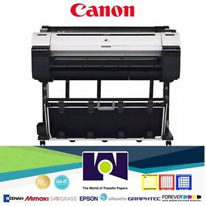 Canon-imagePROGRAF-iPF770-36-034-Color-InkJet-Printer-Plotter-New-with-Stand