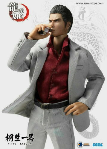 "8/"" YAKU01A Asmus Toys Ultimate KIRYU KAZUMA Male Action Figure Collectible Dolls"