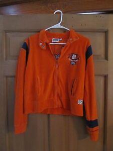 DETROIT-TIGERS-Cooperstown-Collection-Boys-Zipper-Front-Sweatshirt-Size-Medium