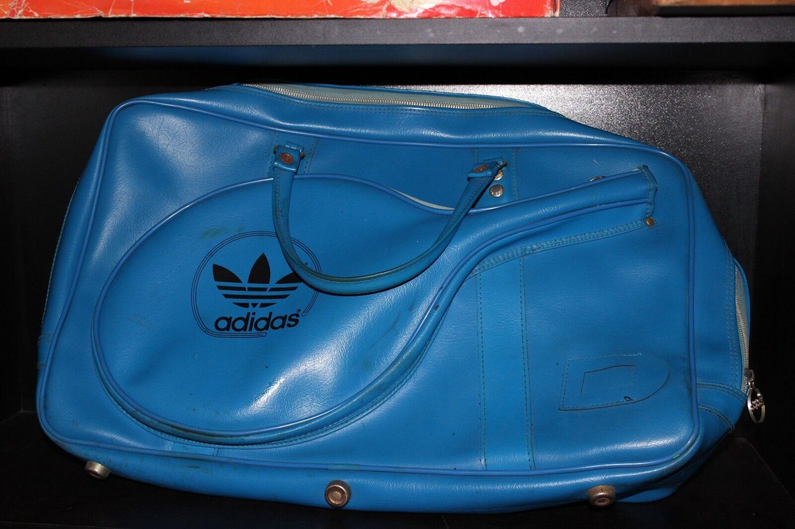 Vintage 1970s Adidas Tennis Bag