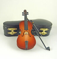 Dollhouse Miniature 5 Wood Cello With Case, Mm402