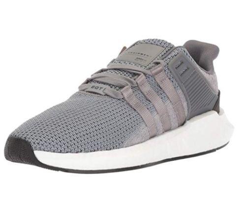Adidas Originals Men's EQT Support 93 17 Running shoes, Grey White, 10 M US NEW