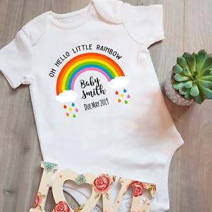 Body Suit Babies Cute Rainbow Baby Clothing Little Rainbow Baby Grow
