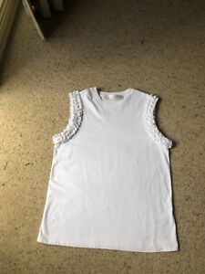 Victoria-Beckham-White-Top-Sz-L-RRP-320-A-s-New-Worn-Once