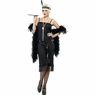 1920's Chicago Charleston Flapper Dress Costume Outfit -12,14,16,18,20 Plus Size