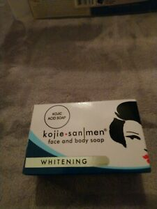 Kojie San Men Whitening Face and Body Soap 4.76 oz / 135 g |Kojie San Soap For Men