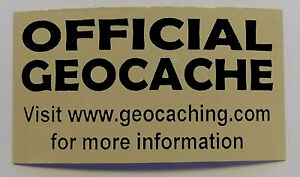 3-x-Cache-stickers-for-Geocaching-black-print-on-brown-sticker