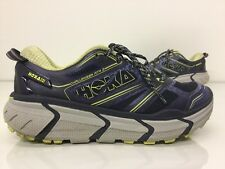 Hoka One One Womens Challenger ATR 2 Navy Trail Running Sneakers Shoes sz 6.5