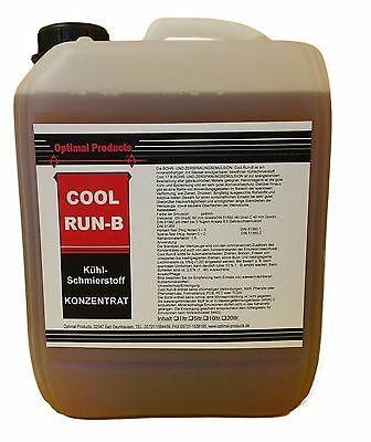 """Kenntnisreich KÜhl-schmierstoff Industriequalität """"cool Run B"""" 10 Liter Kanister"""