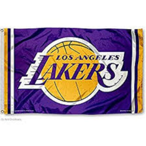 Los Angeles Lakers Flag 3x5FT Large