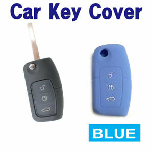 CAR-KEY-COVER-CASE-Fits-Ford-Falcon-Mondeo-Focus-Territory-FG-XR6T-XR5-FPV-BLUE