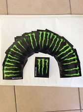1 Autocollant stickers Monster Energy tuning déco moto bike bmx skate snowboard