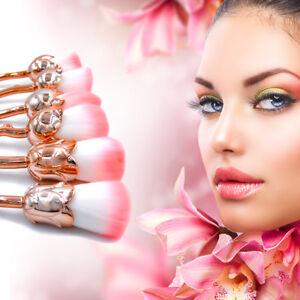 6Pcs-Foundation-Makeup-Brushes-Face-Blending-Rose-Flower-Shape-Brushes-Kit-NEW