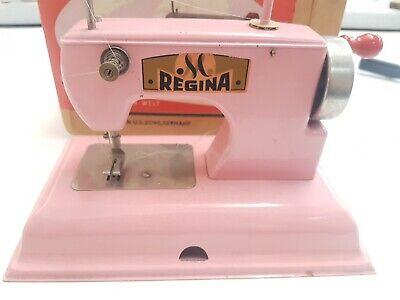 Regina Macchina per Cucire giocattolo Made in U.s Zone Germany anni 60 | eBay