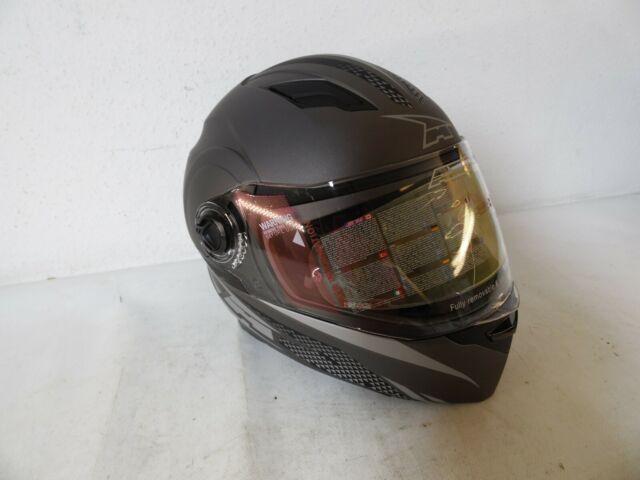 Rollerhelm WACHMANN WA-10 Gladiator rot grau//schwarz Integralhelm Motorradhelm Gr/ö/ße XL