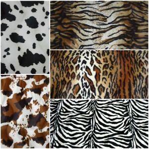 timeless design 6ab34 7c8d7 Dettagli su Tessuto pelliccia ecologica cavallino rasato animal H150 prezzo  riferito a 50 cm