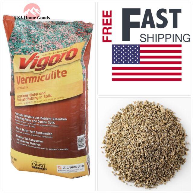 Vigoro 2 cu  ft  Vermiculite Soil Amendment