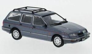 IXO-CLC352-FORD-SIERRA-GHIA-ESTATE-diecast-model-road-car-silver-1988-1-43rd