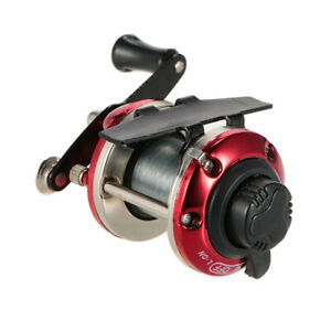Right Hand Ice Fishing Reel Drum Reel Construction For Saltwater Freshwater Q8I0