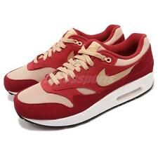 hot sale online 570f0 b031f atmos X Nike Air Max 1 Premium Retro Red Curry Pack Men Running Shoes 908366 -
